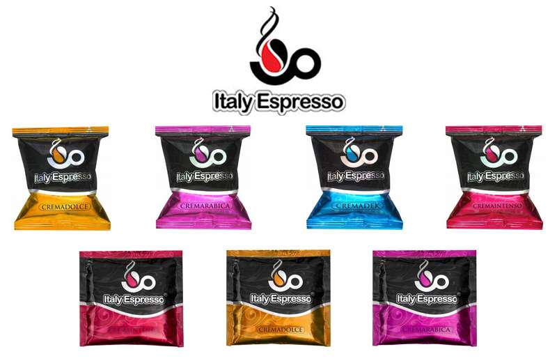 Italy Espresso Pods and Capsules on Wholesale