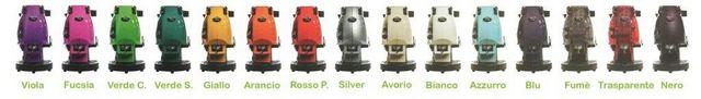 colors of didiesse frog coffee machines